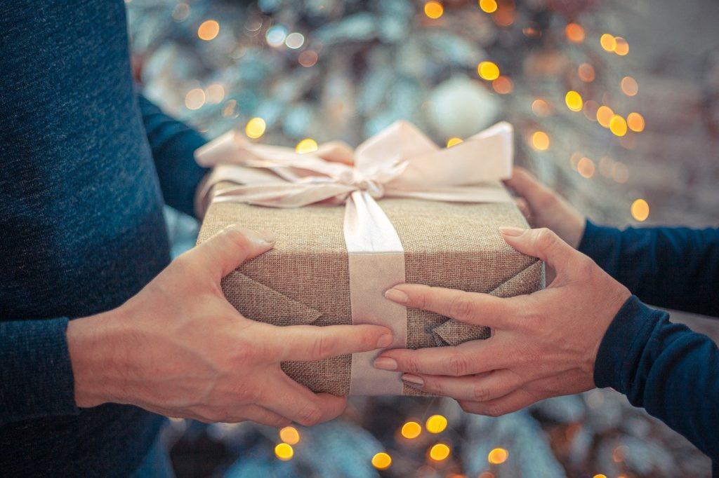 Umweltfreundliches Geschenkpapier